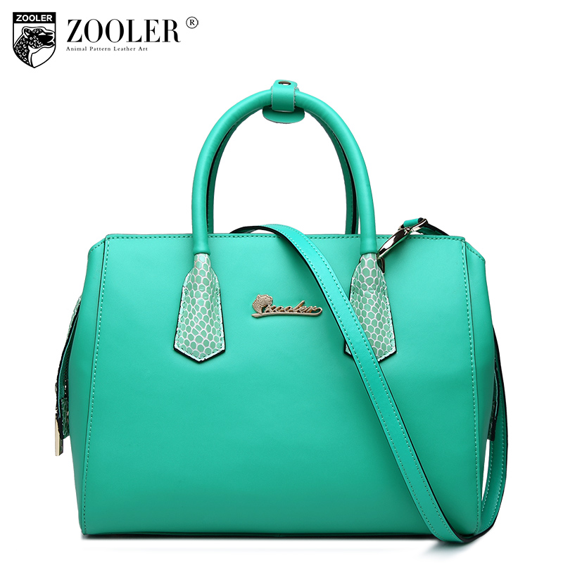 ФОТО big saleZOOLER hot leather bags handbags women famous brands 2017 top quality ladies Genuine leather Bags tote bags Bolsas #1621
