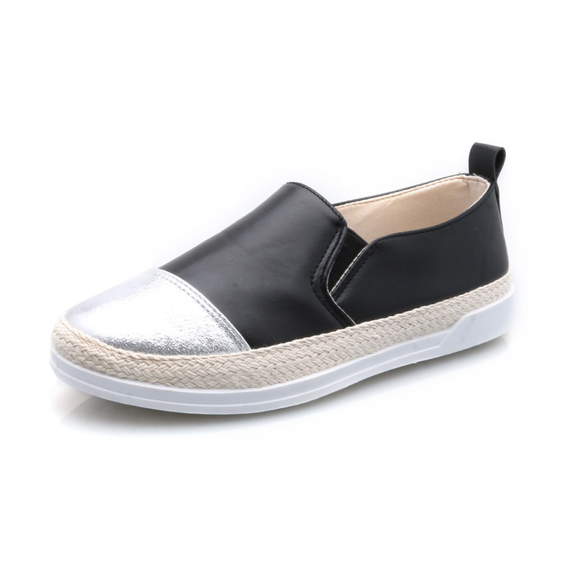 Genuine leather flat shoes women US size handmade Color matching leather shoes vintage British style oxford shoes for women women genuine leather flat sandals shoes handmade beige white oxford slippers vintage square toe british style shoes