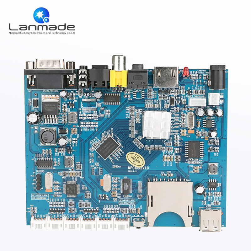 Optical&HDMI output RS232 Control usb pcba circuit board pcb factory uhd h 265 android 4k pcba assembly pcb circuit boards