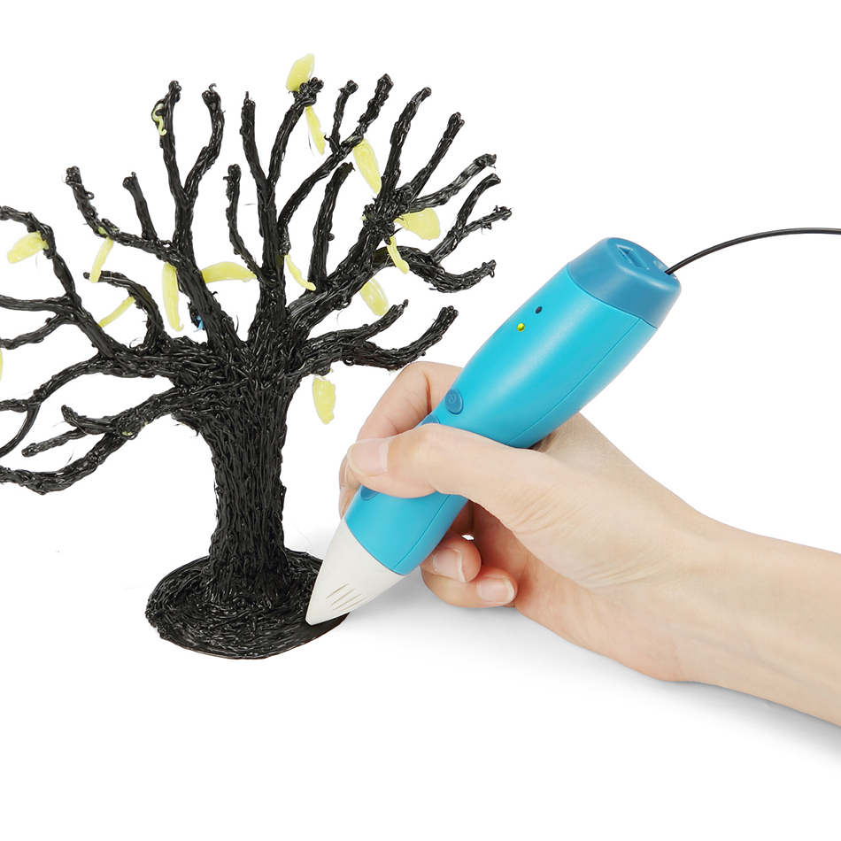 Hot Selling 3D Printing Pen USB Charging 3D Drawing Pen for Doodling Art Craft Making and Education