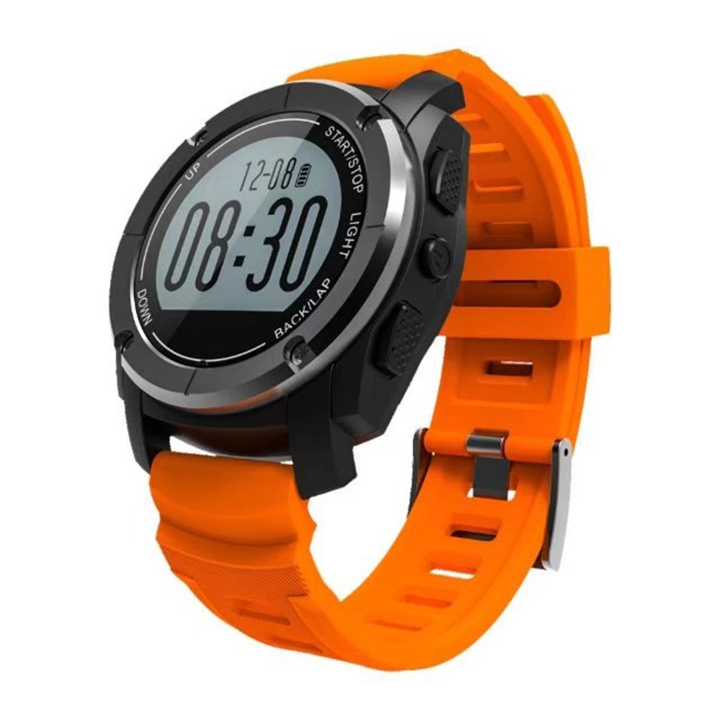 S928 Real-time Heart Rate Track Smart Watch Bluetooth 4.0 GPS Sport Smartwatch Pedometer Sedentary Remind Sleep Monitor l 2 smart watch health metal smartwatch inteligente reloj with sleep monitoring bluetooth sedentary remind camera pedometer