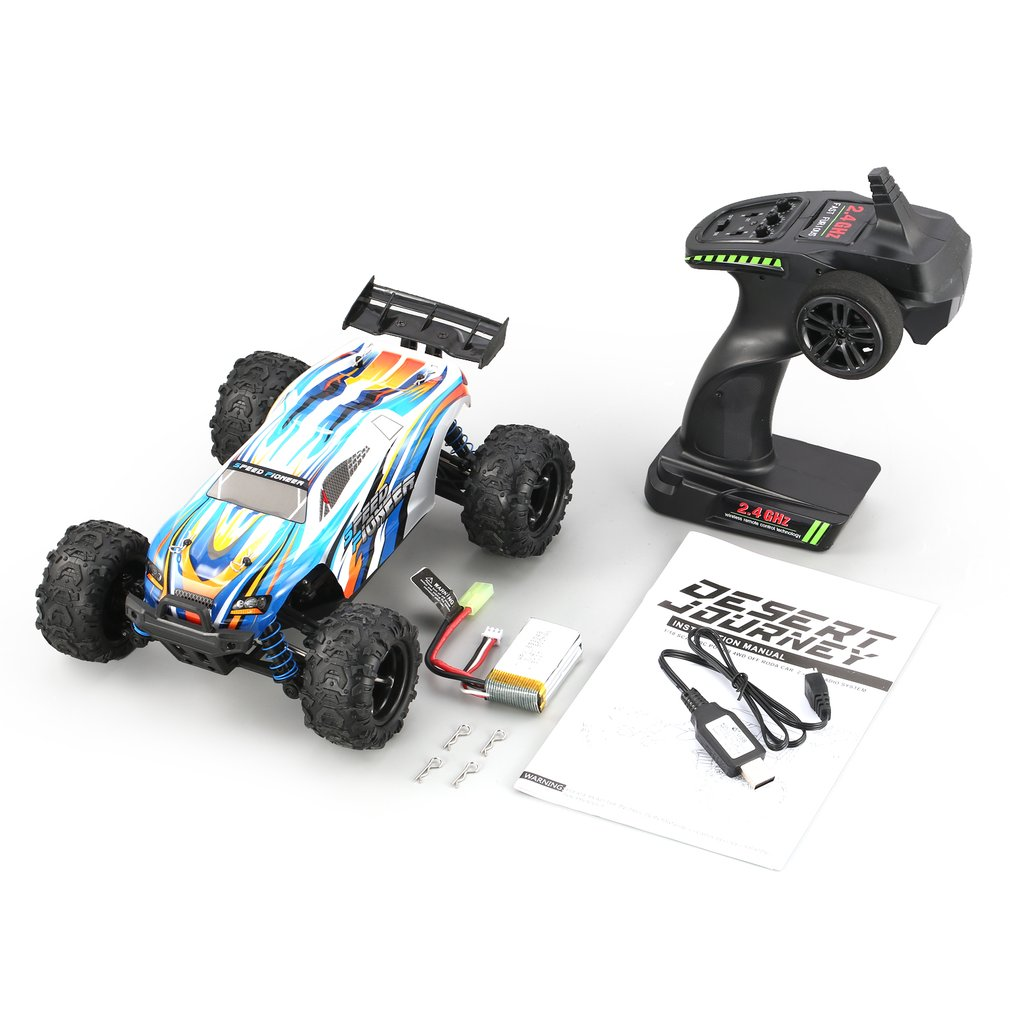 OCDAY 1/18 4WD RC tout-terrain Buggy véhicule haute vitesse course RC voiture pour Pioneer RTR monstre camion télécommande jouet cadeau pour les enfants