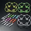 RC Quadcopter Spare Part 16 Blades+3 Protector For Cheerson CX - 10/CX - 10A Mini Rc Drone Helicopter Quadcopter Accessories D20