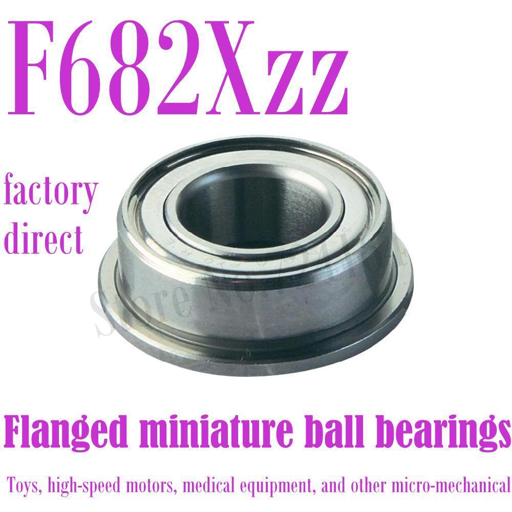ZZ609 Shielded Deep Groove Flange Ball Bearing 24mm OD 9mm Bore Diameter