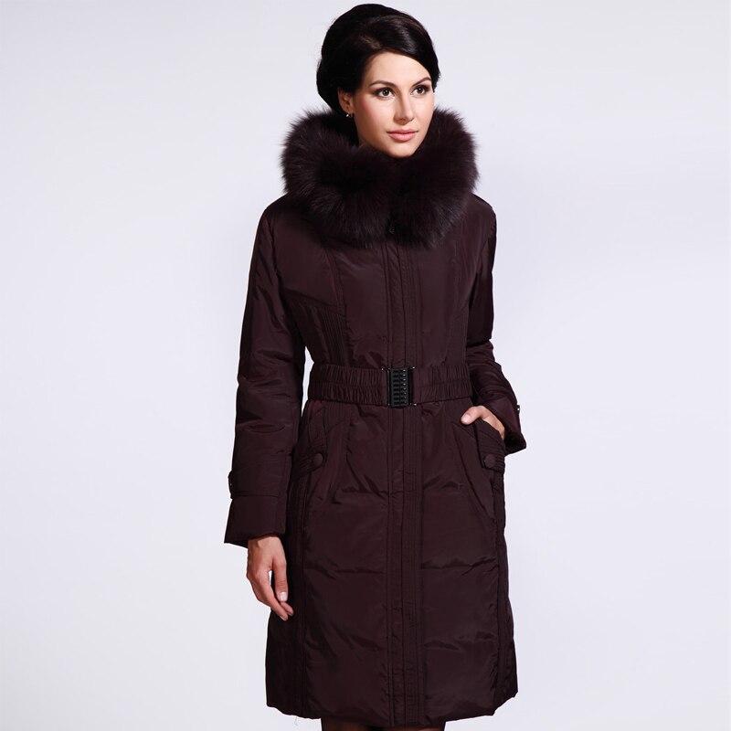 2014 Plus size Winter Jacket Women Long Down Coat Women