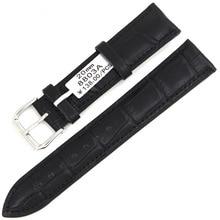 2017 de Haute qualité bracelet en cuir de vachette bambou crocodile bracelet en cuir bande de montre accessoires montres hommes correa pulseira, montre femmes