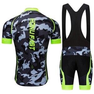 Image 3 - Conjunto de Ropa para ciclismo para hombre, Ropa de verano del 2020 para carreras, traje transpirable para ciclismo de montaña o carretera