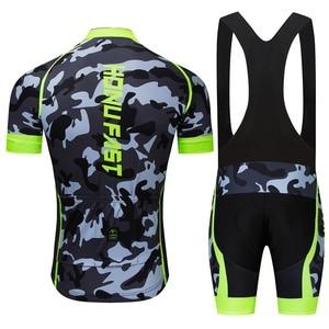 Image 3 - Cyclisme Jersey ensemble 2020 été hommes cyclisme vêtements course vélo vêtements costume respirant vtt vélo vêtements Ropa bicicleta