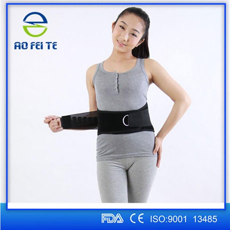 Women Men Tourmaline Belt Back Support Braces Medical Belt Back Massager Faja Lumbar Support Magnets Tourmaline Products Y012