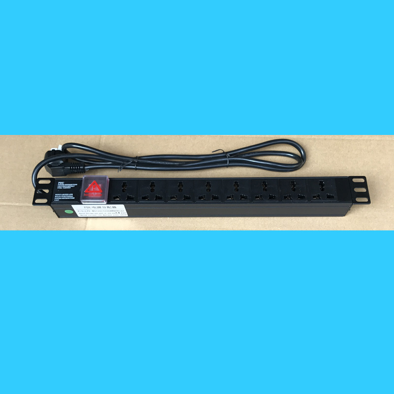 8 Hole Universal Server, Special Power Cabinet, PDU Socket, Aluminum Alloy PDU Special Treatment With 16A