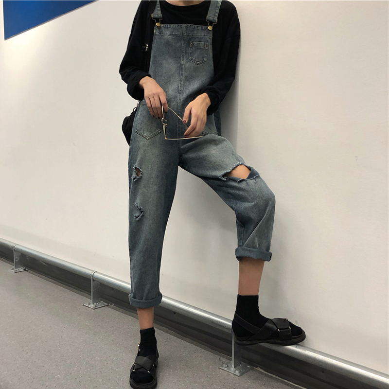 Cheap Wholesale 2019 New Autumn Winter Hot Selling Women's Fashion Casual  Denim Pants BP46