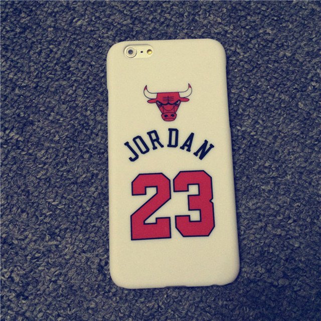 Chicago Bulls Jordan Case for iPhone 5s Cases 5 6 6s 6 Plus Case Sport Basketball Hard PC Protective Back Mobile Phone Case