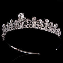 100 Handmade Bridal Wedding Crown Bride Tiaras Crystal Rhinestone Hair Bridal Bands Accessories Headdress Party Pageant