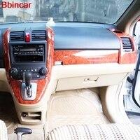 Bbincar ABS Special Paint Interior Decoration Upgrade Kit 9pcs/set For Honda CRV 2007 2008 2009 2010 LHD
