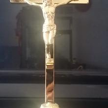 Иисус католический христианский священный распятие украшения крест руд Эммануэль Jesu крест Статуэтка с основной фигурой фигурка ягненка Божия
