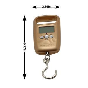 Image 2 - Angryfish ホット多機能ポケットスケール液晶デジタル荷物重み付け釣りフックスケール電子体重計