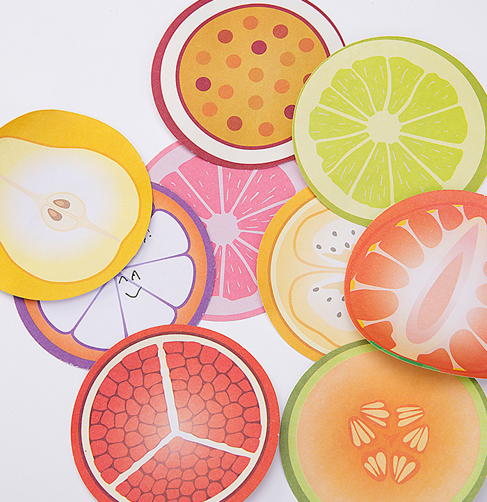 Creative Fruits Self-Adhesive Memo Pad Sticky Notes Post It Gift Stationery school office supply Escolar Papelaria