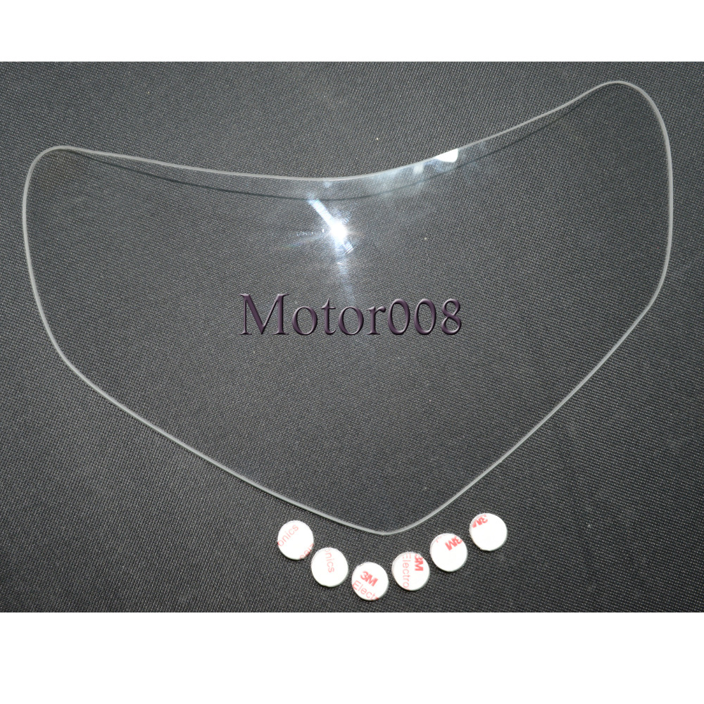 Clear Headlamp Headlight Lens Cover Shield Protection Protector for Suzuki <font><b>K1</b></font> <font><b>GSXR</b></font> <font><b>600</b></font> 750 <font><b>2001</b></font> 2002 2003 image