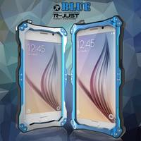 Originele R-JUST Gundam Stofvrije Schokbestendig Waterdichte case Voor Samsung Galaxy S6 & S6 Edge Armor Krachtige Case Cover