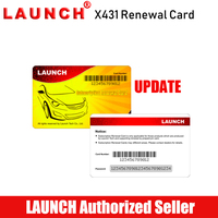 Launch Renewal Card for X431 V+/ X431 PROS MINI/Diagun IV/ X431 V/X431 PRO Pin Card for Gasoline & Diesel Cars Update Service