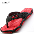 2016 Summer Men Designer Flip Flops Male Casual Beach Shoes Platform Slip on Sandals Breathable Shoes Hot Sales