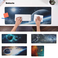 Babaite New Designs The Space  Natural Rubber Gaming mousepad Desk Mat PC Computer