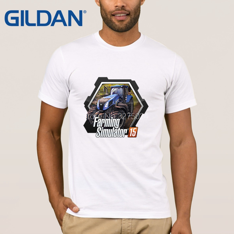 8964281d Gildan Printing Normal T Shirt Men Farming Simulator Game Mens T Shirt  Humor Sunlight Tee Shirt Man Unisex High Quality-in T-Shirts from Men's  Clothing on ...