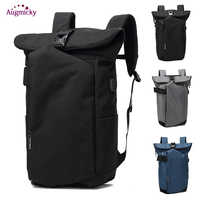 2019 Men Backpacks Oxford Wearable Breathable Anti Theft USB Charge Laptop Backpack school bags for teenagers Travel Mochila