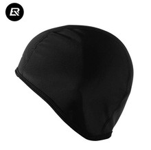 ROCKBROS Bicycle Riding Headband Black Outdoor Sports Bike Fleece Hats For Men Winter Sport Cycling Bicycle Cap Snow Warm Caps