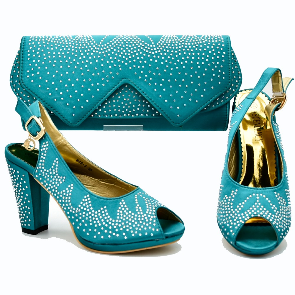 Teal green african aso ebi party high heel with size 37 to 42 shoes bag to match lady african aso ebi shoes and bag set SB8292-4Teal green african aso ebi party high heel with size 37 to 42 shoes bag to match lady african aso ebi shoes and bag set SB8292-4