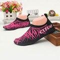 Masculino e feminino sandálias com os pés descalços respirável leve sapatos macios sapatos antiderrapantes portáteis nadar Mergulho
