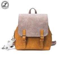 Корейские милые backpaks для Для женщин подросток Обувь для девочек ранцы панелями путешествия рюкзак дамы рюкзак Mochila