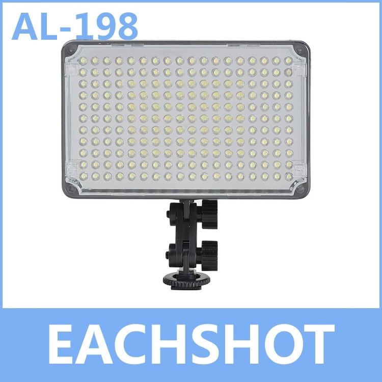 Aputure Amaran AL-198 198 LED Video/Camera Light for Cannon Nikon Sony Olympus Free Shipping