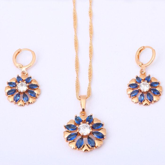 18K Gold filled-Adorable Tortue Cercle Blanc Topaz Zircon Fleur Dangle Boucles d/'oreilles