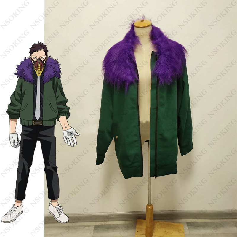 Anime Boku no Hero Academia Kai Chisaki Overhaul coat Cosplay Costume My Hero Academia Tailor Made