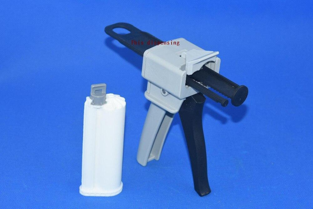 10: 1 50ML AB epoxy glue gun & cones 50 10