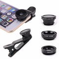 Universal Fisheye Lens Wide Angle Macro Clip On Camera Lens Zoom for iPhone 6