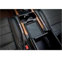 2 шт. наполнители из искусственной кожи наполнитель пространства Зарядка для бардачка автомобильное сиденье подкладка для щели для Kia Sportage