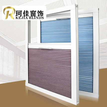 Free shipping Russia NZ Australia pull rod control  sunfilter Cellular Window skylight Honeycomb Blinds curtains Shades for roof