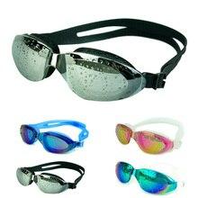 Adult Women Men Professional Waterproof Clear Glasses Anti-Fog UV Swimming Swim Goggles Adjustable Swim Natacion Piscina