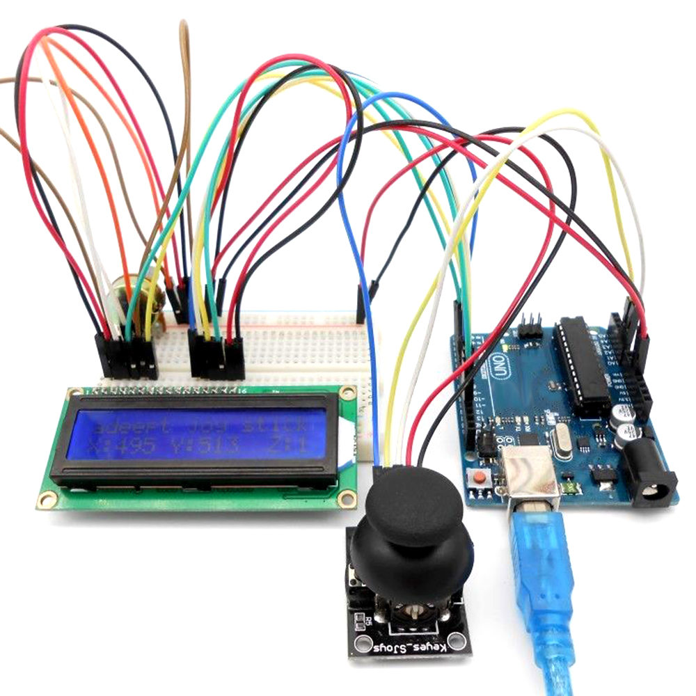 Starter learning Kit for Arduino UNO R3 LCD1602 Servo processing contains more than 50 kinds of different electronic components
