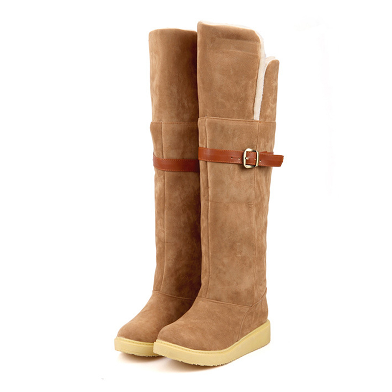 High Quality Brand Snow Boots Women Fashion High Boots Classic Shoes Woman Winter Snow Boots only true love high quality women boots winter snow boots