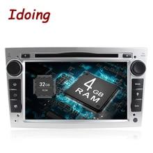 Idoing Android8.0 4G + 32 г 8 ядерный 2Din для Opel Vectra Corsa D Astra H быстрая загрузка рулевое колесо автомобиля DVD Мультимедиа Видео плеер 3g
