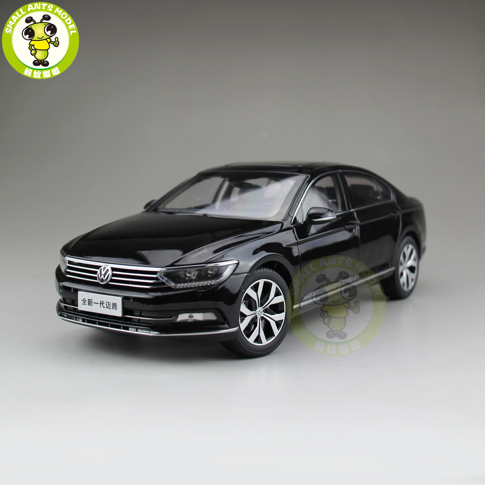 1/18 FAW VW Magotan Passat B8 Volkswagen Diecast Car Model Toys Boy Girl Birthday Gift Collection Hobby Black 1 18 vw volkswagen teramont suv diecast metal suv car model toy gift hobby collection silver