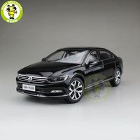 1/18 FAW VW Magotan Passat B8 Diecast Car Model Toys Boy Girl Birthday Gift Collection Hobby Black