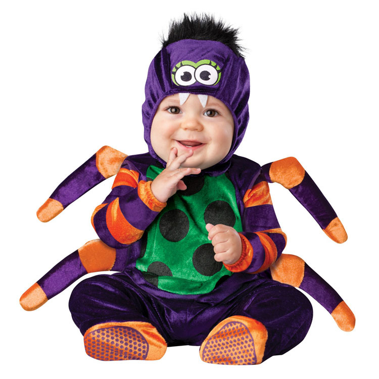 High Quality Baby Halloween Autumn Christmas Romper Animals Clothes Kids Cosplay Spider Costume Children Clothing платье oodji ultra цвет серый бордовый 14008014 2 46898 2349s размер l 48