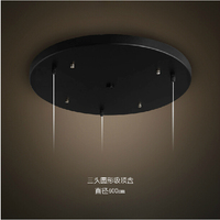 Brhy Head Three Round Ceiling Plate 3 Rectangular Ceiling Plate Chandelier Chassis Fittings Combination Lamp Holder