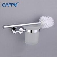 GAPPO 1 bộ Wall-mount Nhà Vệ Sinh hợp kim Kẽm Bàn Chải Chủ Gắn Seat chủ Glass cup Phòng Tắm Phần Cứng AccessoriesG1810