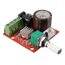 Hot Sale 12V Mini Hi-Fi PAM8610 Audio Stereo Amplifier Board 2X10W Dual Channel D Class