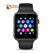 GSM SmartWatch Phone MTK2502C Bluetooth Sports Smart watch Camera SIM Card Silicone for Apple Iphone Huawei Xiaomi Android Phone(China)